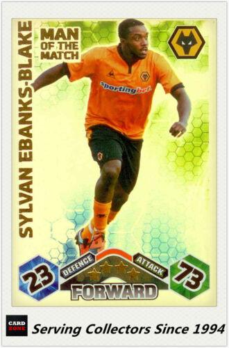 2009-10 Topps Match Attax Man Of Match Foil Cards No419 Sylvan Ebanks-Blake