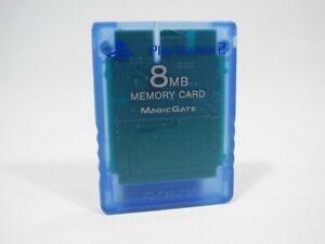 PS2-Original-Sony-Memory-Card-Memorycard-Speicherkarte-8-MB-blau