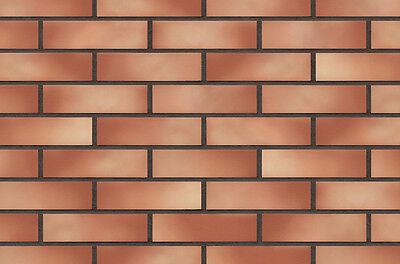 Heimwerker Zielstrebig Strangpress Klinker-riemchen Nf-format Rot-orange Bunt Riemchen Verblender In Vielen Stilen