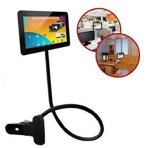 Supporto tablet ipad x casa letto staffa flessibile clip universale a pinza ebay - Supporto per ipad da letto ...
