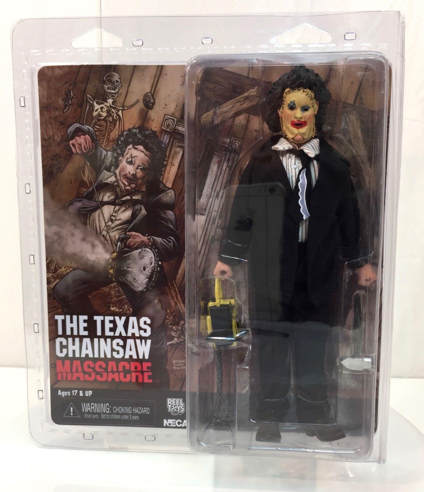 NECA Texas Chainsaw Massacre Pretty Woman Leatherface RETRO Clothed 8  Figure