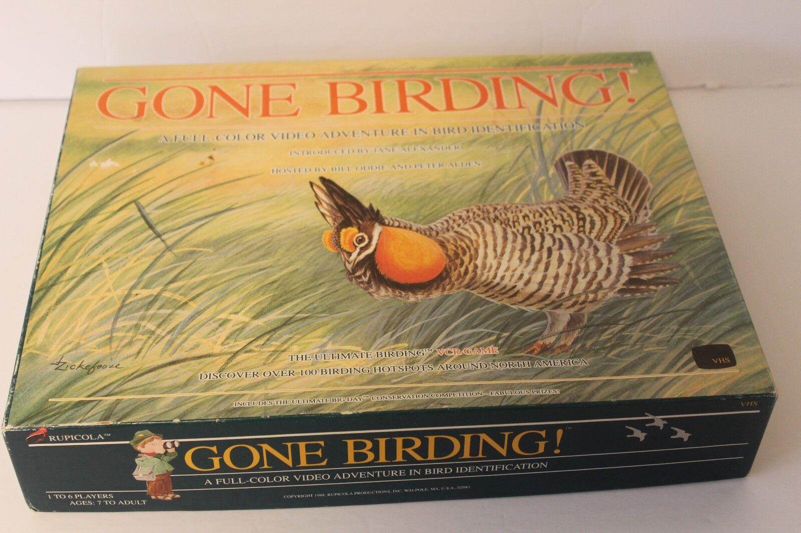 compra en línea hoy Vintage 80s ido Aves Observación Observación Observación De Aves naturaleza VCR VHS Familia Juego De Mesa  envío gratuito a nivel mundial