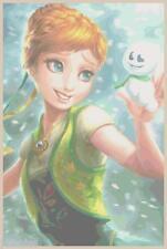 "Disney's Frozen Limited Edition ""Anna"" Cross Stitch Pattern CD  Fantasy"