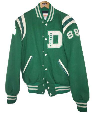 Vintage Dublin Ohio High School Varsity Jacket Soc