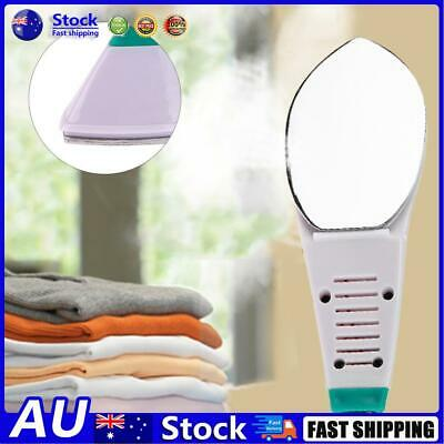 Details about  AU Electric Steam Iron Mini Portable Handheld Flatiron For Home Travelling
