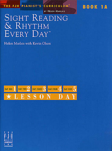Sight Reading And Rhythm Every Day Learn to Play Piano Music Book 1A