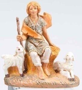 FONTANINI-034-PETER-BOY-WITH-SHEEP-034-5-034-NEW-MIB