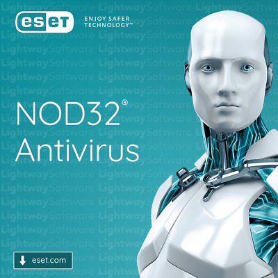 ESET NOD32 Antivirus 2020 - 1 to 3 years for 1 to 5 ...