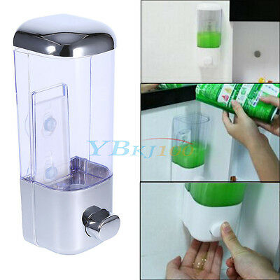 Kitchen Bathroom Sink Liquid Shampoo Soap Lotion Holder Bottle 500ML Dispenser