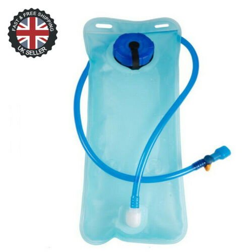 2L Hydration Bladder Bag Hiking Camping Backpack Water Drinking Pouch Sport