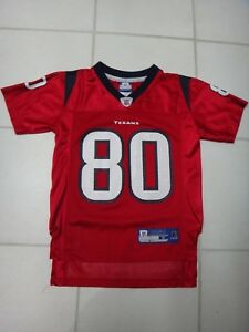 online store ba120 aa3b8 Details about Reebok Andre Johnson #80 Red Houston Texans Jersey~Youth S  (8)~100% Nylon~GUC