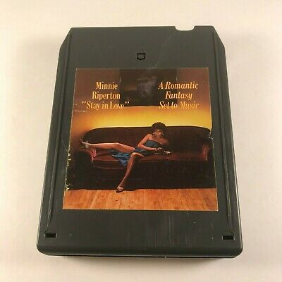 Imported From Abroad Minnie Riperton ‎– Stay In Love 8-track Cartridge Pea 34191 Disco Funk Soul 1977 Delaying Senility Other Formats