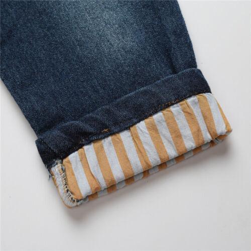 Jeans Pants Outfit Clothing Set NEW 3pcs Baby Boys Kids Cowboy T-shirt Shirt