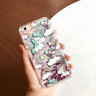 Hottest! Dynamic Liquid Glitter Quicksand Pattern Case Cover For iPhone 7 Plus 6