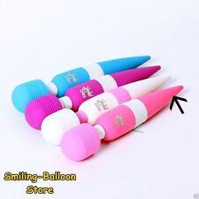 Multi Speed Libo Magic Wand Wireless Vibrator Women Massager Neck Full Body Pink