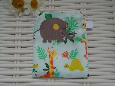 Cordiale Jungle Borsetta Portamonete Borsellini Wallet Per Bambini Ragazzi Foderato Zip Ragazzi Ragazze Animali Selvatici-mostra Il Titolo Originale