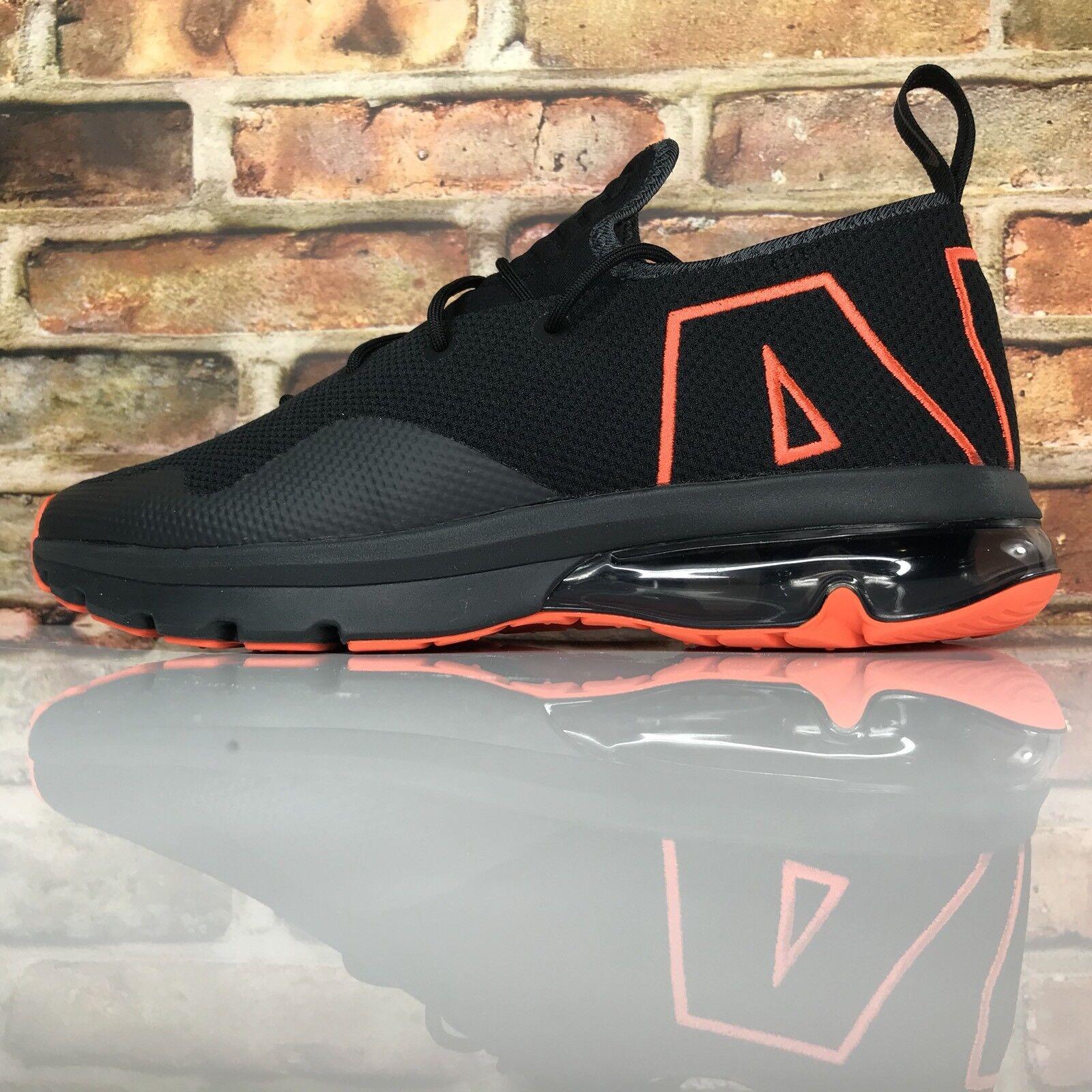 Nike air Uomo max stile 50 p Uomo air 43 di scarpe da corsa ah9949-001 nero arancione 6b7b15