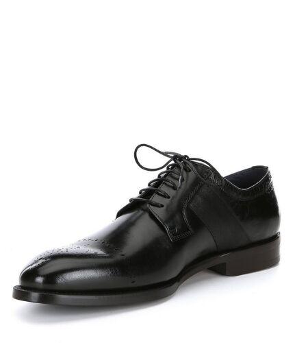 classico nero Scarpe abbigliamento da ciliegia oxford a brogue Derby realizzate mano formale uomo qtaxrtpw7