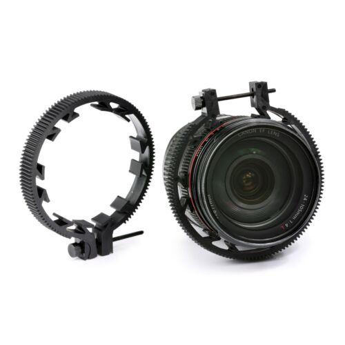 Movo FR3 3 piezas conjunto engranaje anillo de enfoque de seguimiento incluye anillos de lente de 65mm//75mm//85mm
