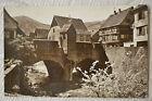 """CPSM """" KAYSERSBERG - Le Pont fortifié sur la Weiss"""