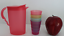 Tupperware-Kids-Mini-Impressions-Party-Set-Tumblers-amp-Rock-Top-Pitcher-New