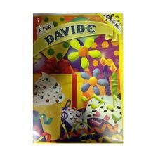 Tarjeta de cumpleaños musical genérico canta nome DAVID y FELIZ En TE