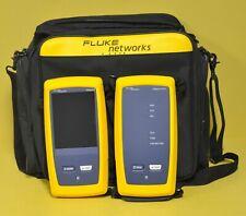 Fluke Networks Dsx 8000 Versiv2 Ofp Quad Fiber Scope Certifier Dsx 8000 Otdr Kit
