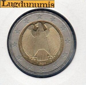 ALLEMAGNE 2011 F Stuttgart - 2 Euro - pièce neuve de rouleau - Sous pochette HB