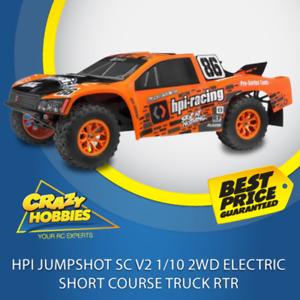 HPI Jumpshot SC V2 1/10 2WD Electric short course Truck RTR