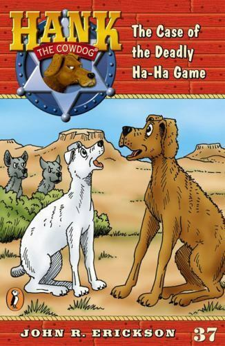 The Case of the Deadly Ha-Ha Game #37 (Hank the Cowdog)-ExLibrary