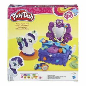 NEW-PLAY-DOH-RARITY-STYLE-amp-SPIN-B3400-MLP