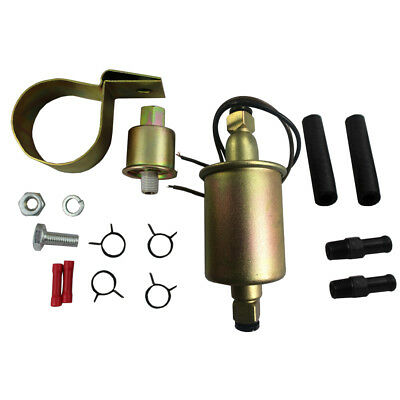 NEW UNIVERSAL ELECTRIC FUEL PUMP GAS DIESEL MARINE CARBURETED E8012S