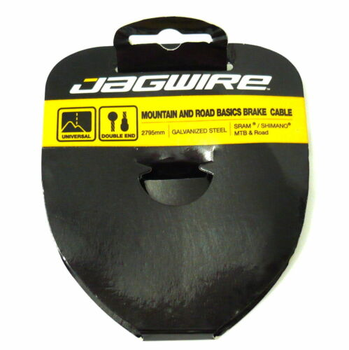 2795mm 37.4g L94 gobike88 Jagwire Slick Galvanized Brake ROAD//MTB inner cable