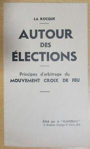 The-cross-of-Feu-Legislative-Elections-Booklet-Principe-Arbitration-1936-Rocque