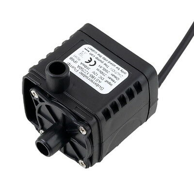 12V DC CPU Cooling CAR Brushless Water Oil Pump Waterproof Submersible FO