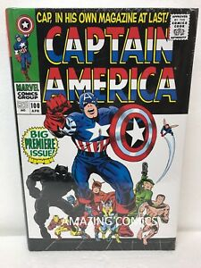 Marvel-CAPTAIN-AMERICA-Omnibus-VOL-1-Hardcover-HC-New-MSRP-125