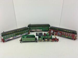 Thomas Christmas Train Set.Details About Hawthorne Village Thomas Kinkade Christmas Express Bachmann On30 Train Set Nice