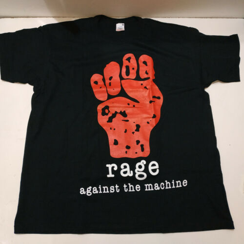 Vintage    RAGE AGAINST THE MACHINE     Unused T S