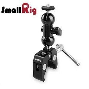 SmallRig-Ballhead-Arm-Super-Clamp-Mount-Multi-function-Double-Ball-Adapter-1138
