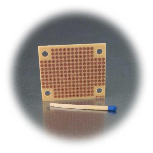 cuadrículas de agujero placa 45x39mm Mini lötplatine 5er Pack punto de rejilla placa de cobre