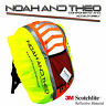 Reflective High Viz Waterproof Cycling Backpack Rucksack Pannier Bag Rain Cover
