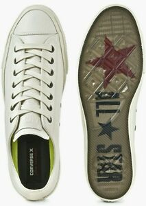 09817a147aa520 CONVERSE X JOHN VARVATOS CHUCK II COATED LEATHER LOW TOP LUNARLON ...