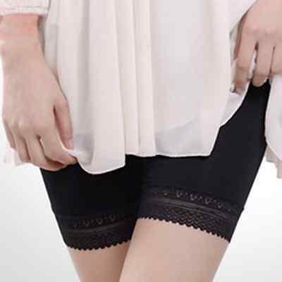 Women Lady Lace Safety Pants Underwear Leggings Briefs Shorts Prevent Exposure