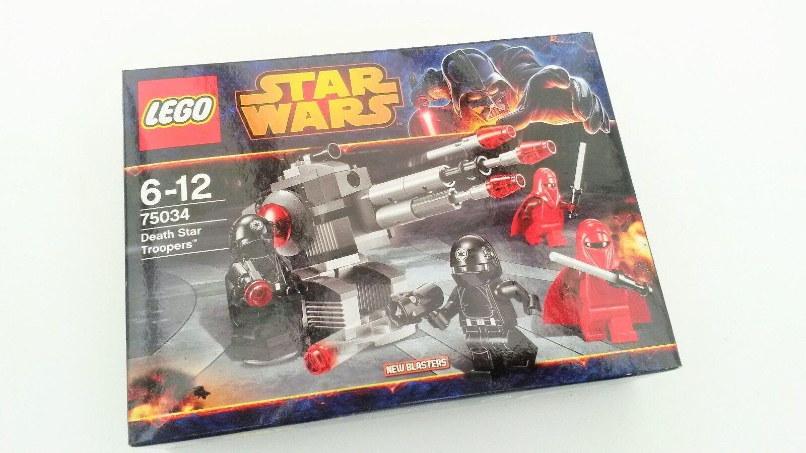 Lego Lego Lego Star Wars, estrella de la muerte Troopers 75034, Nuevo Y Sellado  precios mas baratos