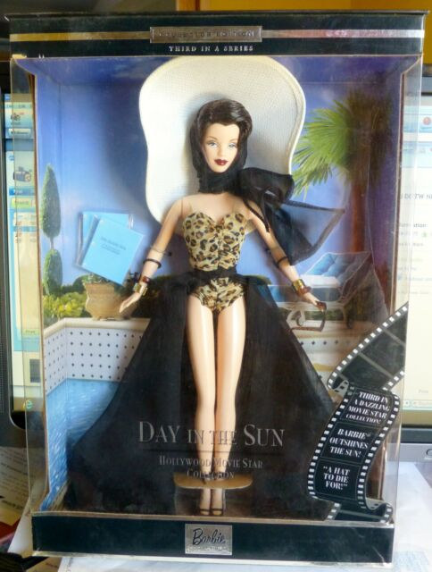 1100 STUECK BARBIE HOLLYWOOD DAY IN THE SUN SELTEN CONVENTION BRUENETTE NRFB