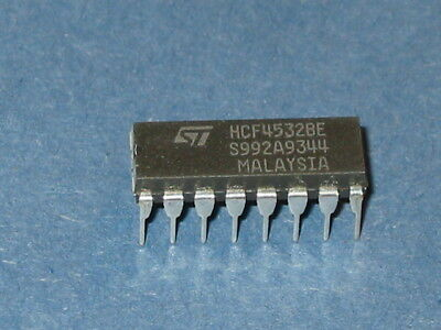 10 PCS CD4532BE DIP-16 CD4532 CMOS 8-BIT PRUIRUTY ENCODER