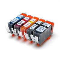 1 FULL SET PGI-525BK CLI-526 Ink Cartridges chipped fit Canon PIXMA Printers