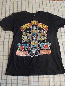Guns N Roses Femme Effet vieilli Appetite for Destruction Lavé T-Shirt