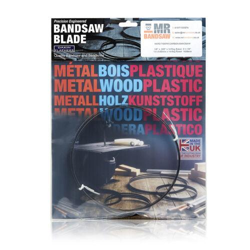 "x .035/"" M42 BIMETAL BANDSAW BLADE VARIOUS TPI 14/' 0/"" 20mm x 3//4/"" 4267mm"