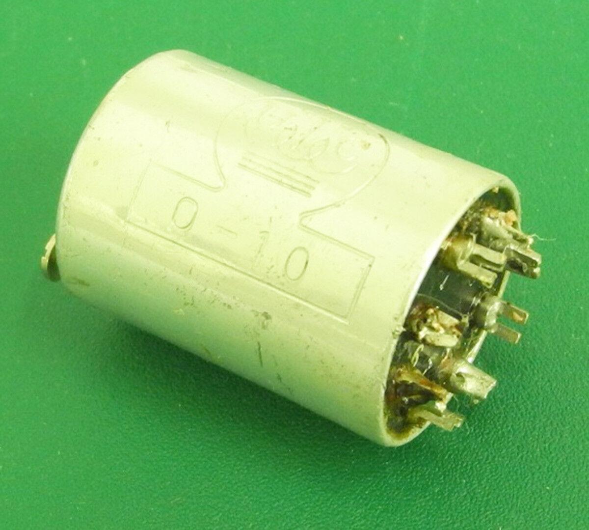 Used UTC O-10 30K 50-200-250-500-600 Ouncer Push-Pull Plate-Line Transformer. IT